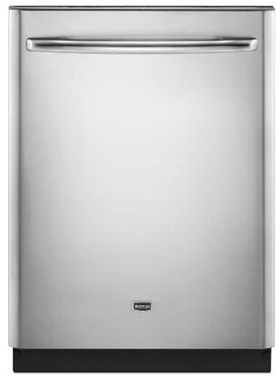 """Maytag MDB8959SAS 24"""" JetClean Plus Series Built-In Fully Integrated Dishwasher"""