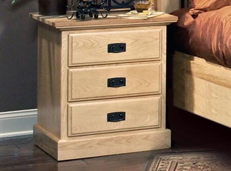 AAmerica AHINT5750 Amish Highland Series Rectangular Wood Night Stand