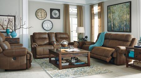 Milo Italia MI8244PSLRBRN Zachery Living Room Sets
