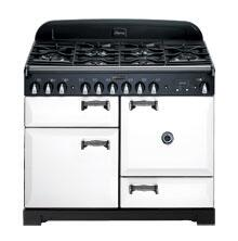 AGA ALEG36ECDWHT Legacy Series Electric Freestanding Range with Smoothtop Cooktop, 1.8 cu. ft. Primary Oven Capacity, in White