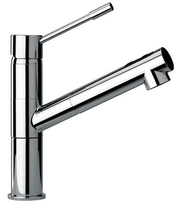 Jewel Faucets 25568XX Modern Single Lever Handle One Hole Kitchen Faucet