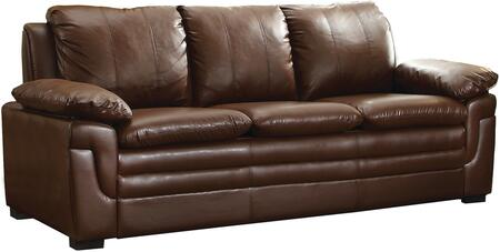 Glory Furniture G280S  Stationary Faux Leather Sofa