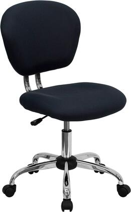 """Flash Furniture H2376FGYGG 23.5"""" Adjustable Contemporary Office Chair"""