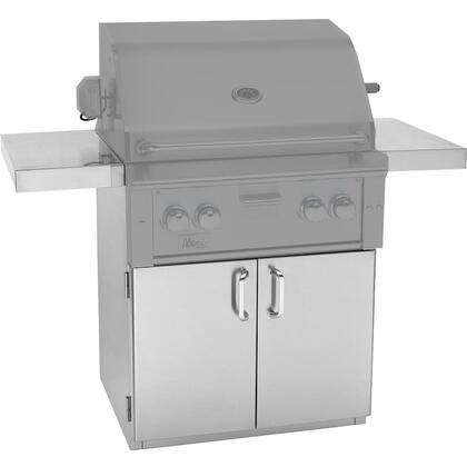 Summerset Grills CARTALT Alturi Series Freestanding Cart for Built-In Grill, in Stainless Steel