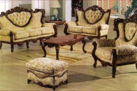 J. Horn 702BROWNS3SET Living Room Sets