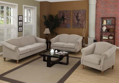 Armen Living LC10561SA Darby Series  with Fabric Frame in Grey