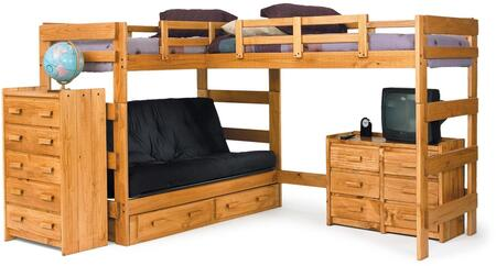 Chelsea Home Furniture 3662001  Twin Size Loft Bed