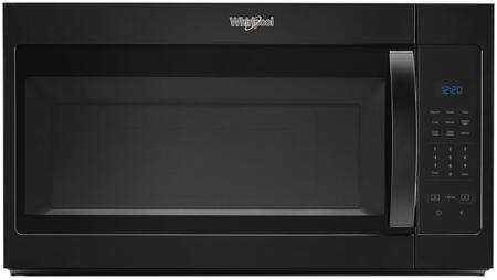 """Whirlpool WMH31017H 30"""" Over the Range Microwave with 1.7 cu. ft, Capacity, 1000 Watts, Turntable, 220 CFM and 2 Fan Speeds, in"""