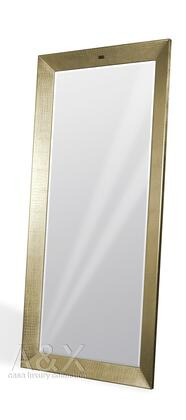 VIG Furniture VGUNAK421CHMP A & X Regal Series Rectangular Portrait Floor Mirror
