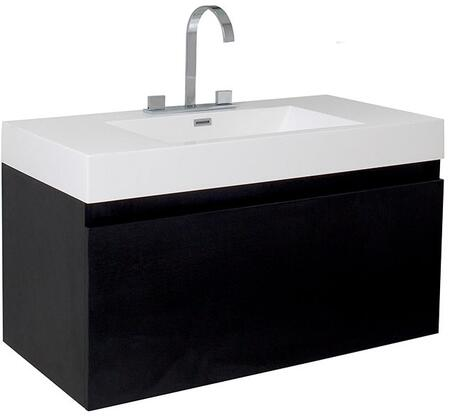 Fresca FCB8010XXX Mezzo Modern Bathroom Cabinet with Integrated Sink in
