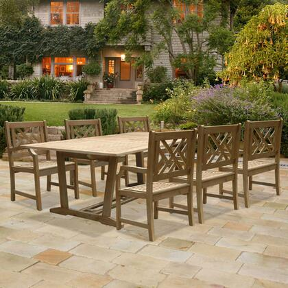 Vifah V1296SET7 Renaissance Patio Sets