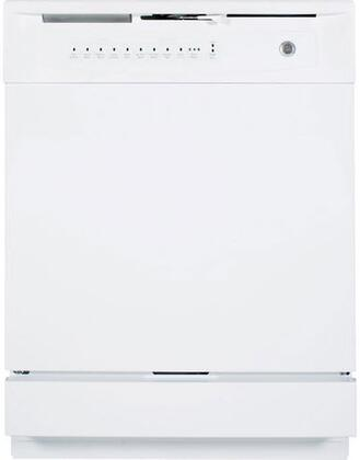 """GE GSD4000DWW 24"""" 4000 Series Built In Full Console Dishwasher"""