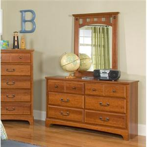 Standard Furniture 4859A City Park Kids Series Childrens Wood Dresser