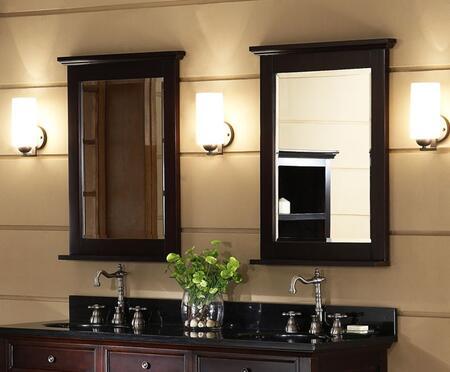 Xylem MGLENAYRE24DK  Rectangular Portrait Bathroom Mirror