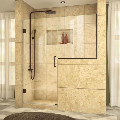 UnidoorPlus Shower Door 39 30D 30BP 06