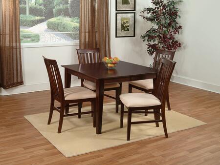 Atlantic Furniture SHAKER5454BTDTAW