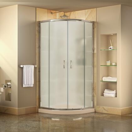 DreamLine Prime Shower Enclosure Frosted Glass 01 Base 22