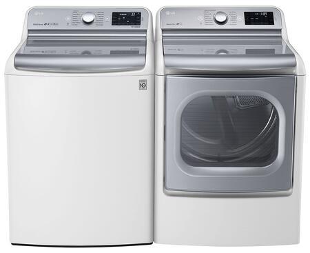 LG 444982 TurboWash Washer and Dryer Combos