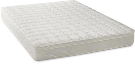 "Dream Support Template: DS8EISMEK 8"" Eurotop Inner Spring Mattress King Size"
