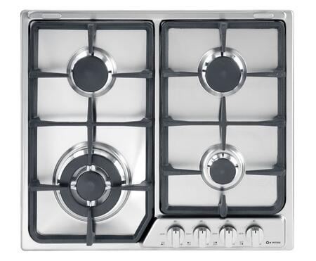 Verona VEGCT424FX  Gas Sealed Burner Style Cooktop
