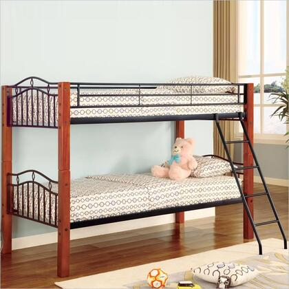 Coaster 2248 Haskell Series  Twin Size Bunk Bed