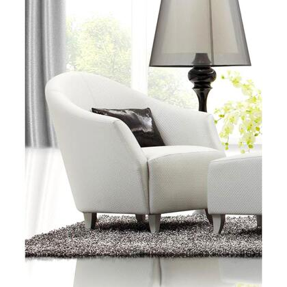 VIG Furniture CHARMINGCHAIR Accent Leather Accent Chair
