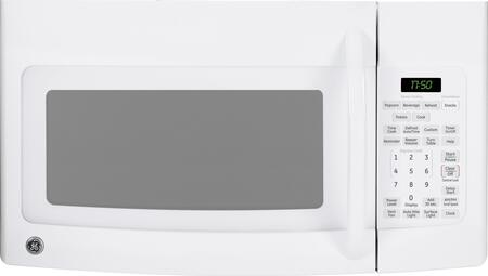 GE JVM1752DPWW 1.7 cu. ft. Over the Range Microwave Oven with 300 CFM, 1000 Cooking Watts, in White