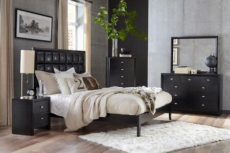Global Furniture USA Carolina 5 Piece Queen Size Bedroom Set