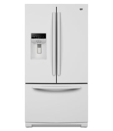 Maytag MFT2976AEW Ice20 Series  French Door Refrigerator with 28.6 cu. ft. Total Capacity 3 Glass Shelves |Appliances Connection