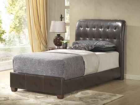 Glory Furniture G2595TBUP G2595 Series  Twin Size Sleigh Bed