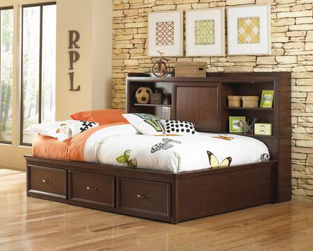 Samuel Lawrence 846874042 Expedition Series  Full Size Bookcase Bed