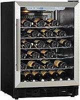"Haier HVCE24CBH 23.88"" Built-In Wine Cooler, in Stainless Steel"