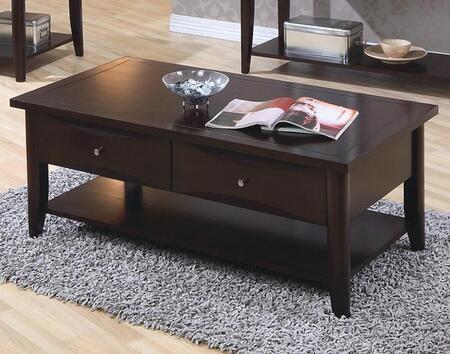 Coaster 700968 Cappuccino Contemporary Table