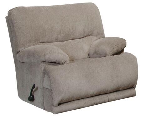 "Catnapper Jules Collection 62200-4- 42"" Power Wall Hugger Recliner with Chenille Fabric Upholstery, Pillow Top Arms and Steel Seat Box in"