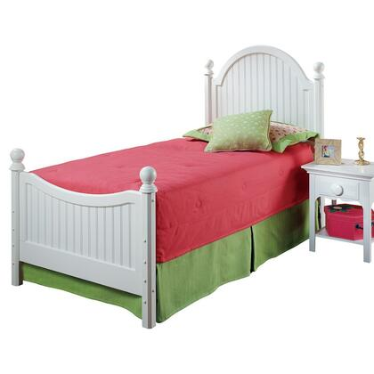 Hillsdale Furniture 1354BTWR Westfield Series  Twin Size Poster Bed