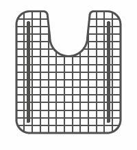 Franke KBXX-36C Bottom Grid for KBX Series Sinks in Coated Stainless Steel