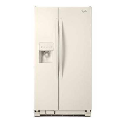 "Whirlpool WRS325FDAT 36""  Side by Side Refrigerator with 24.5 cu. ft. Capacity in Bisque"