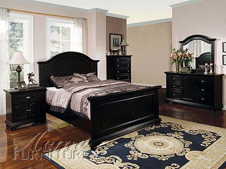 Acme Furniture 04737EK Newville Series  Sleigh Bed