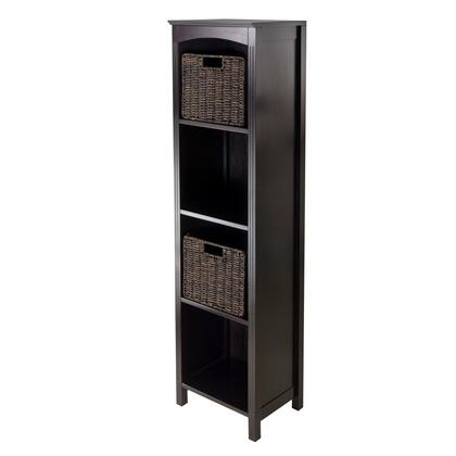 Winsome 92XX5 Terrace Storage Shelf 5-Tier in Espresso Finish