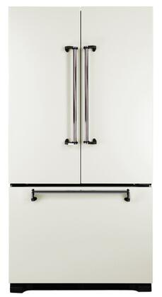 AGA AMLFDR20VWT Legacy Series Counter Depth French Door Refrigerator with 19.8 cu. ft. Capacity in Vintage White