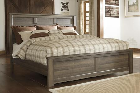 Signature Design by Ashley B251PANELBED Juararo Collection X Size Panel Bed in Brown