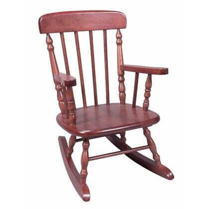Gift Mark 1410 X Deluxe Hand Crafted Solid Wood Child's Spindle Rocking Chair in