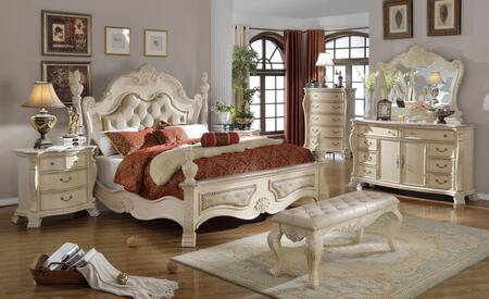 Meridian MONACOQDMCNB Monaco Queen Bedroom Sets