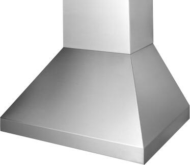 Prizer Hoods HAMP Hampton Wall Mount Hood with Seamless Construction, 3-Speed Control, High Heat Sensor, Commercial Style Baffle Filter and Halogen Lighting, in Stainless Steel