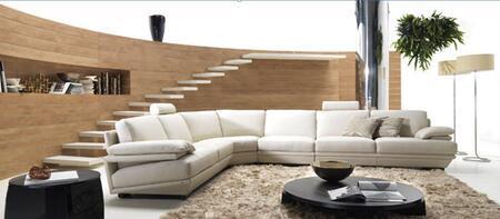 VIG Furniture VGBNBQ002GRY Divani Casa Series Stationary Leather Sofa