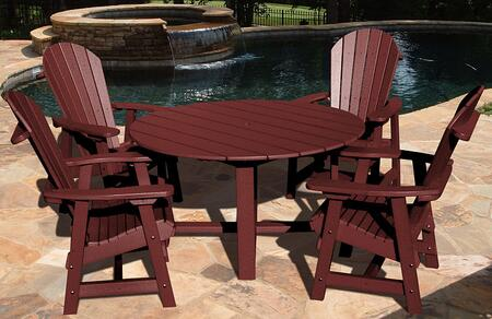Vifah V1094SET1B Patio Sets