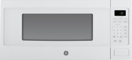 "GE Profile PEM31DFWW 24"" Countertop Microwave, in White"