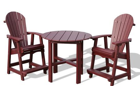 Vifah V1093SET1B Patio Sets