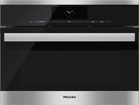 miele dgc6800xl 24 inch single wall oven in stainless steel appliances connection