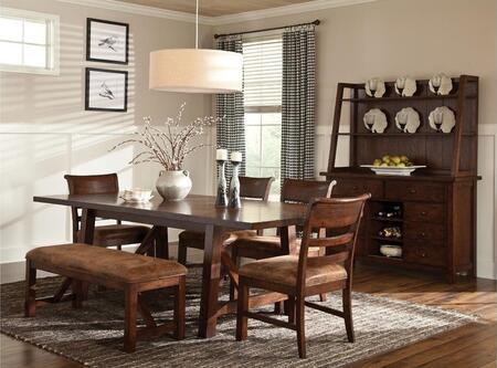 Intercon Furniture BKTA401044616RPNC Bench Creek Dining Room